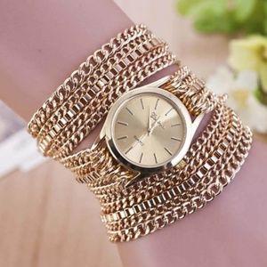 Accessories - Gold Bracelet Chain Watch